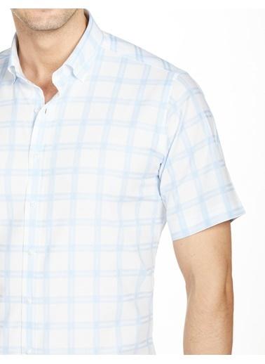 Bisse GM20Y21230 Kısa Kollu Spor Gömlek Mavi